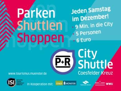 CityShuttle - Parken Shuttlen Shoppen