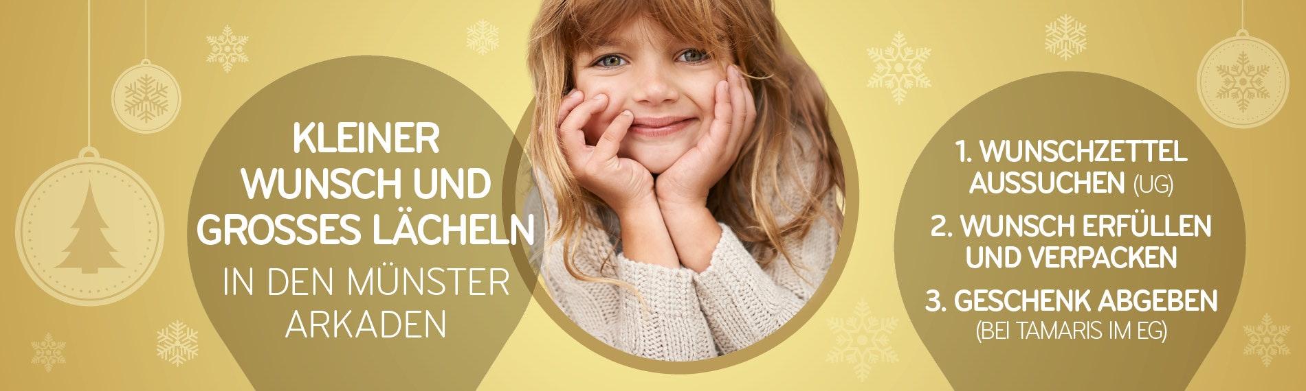 Kleiner Wunsch Großes Lächeln Charity Aktion