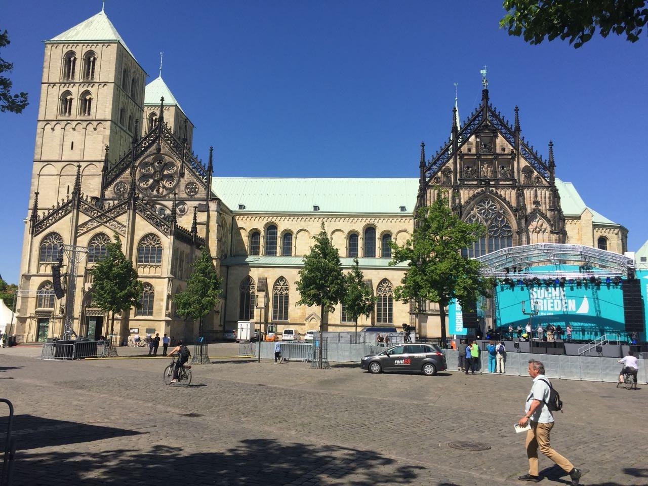 ...zum 101. Deutschen Kathlolikentag in Münster