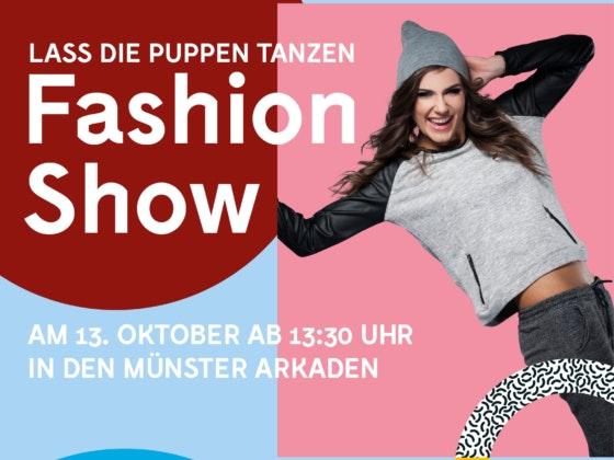 Fashion Show puppen tanzen Münster Arkaden