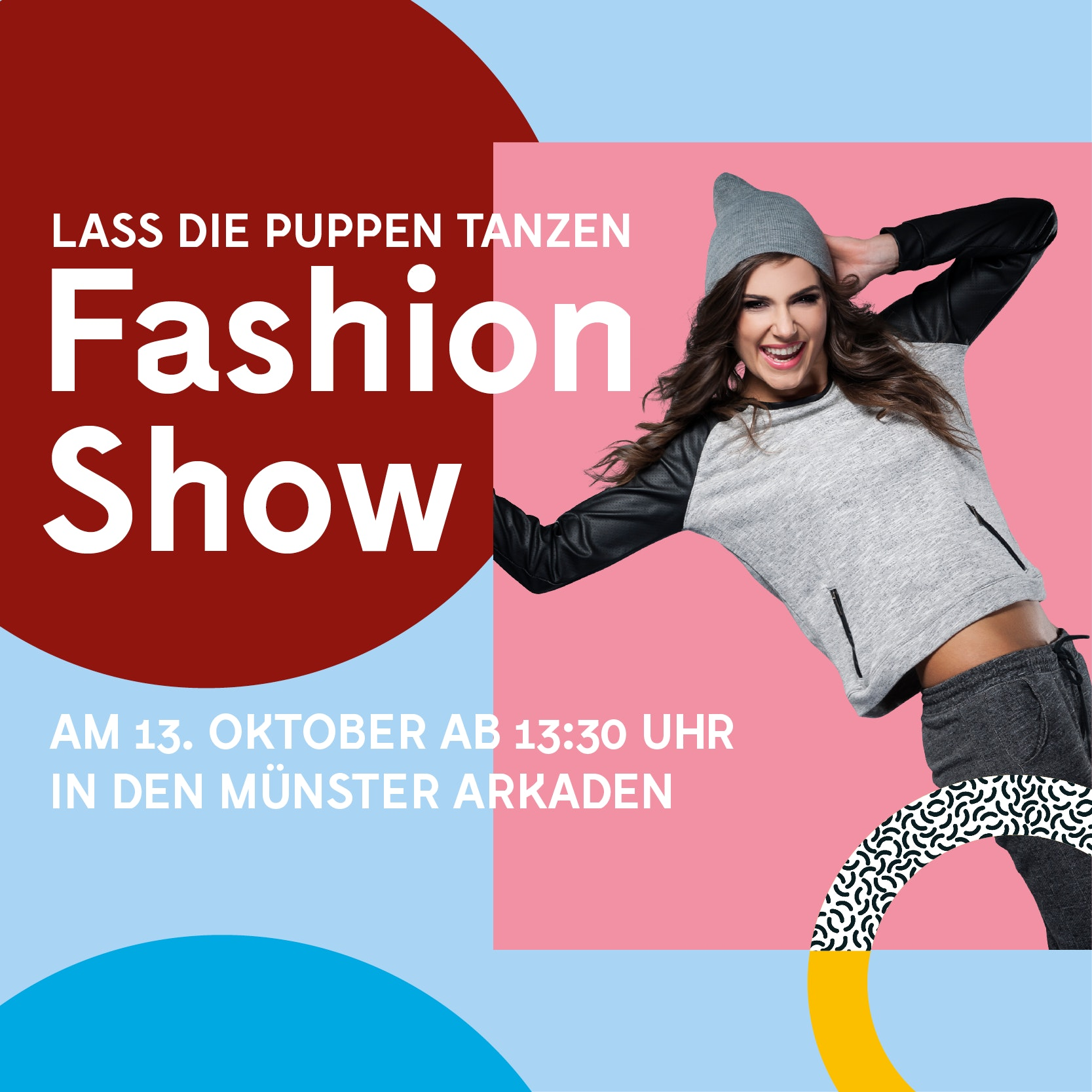 Fashion Show puppen tanzen Münster Arkaden