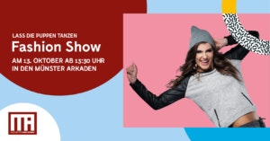Puppen Tanzen Fahion Show Münster Arkaden