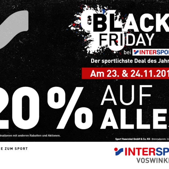 Black Friday Intersport Voswinkel