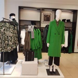 Trendfarbe grün in den MÜNSTER ARKADEN