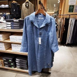 Entdecke luftige Sommerkleider in den MÜNSTER ARKADEN wie dieses Hemdkleid von Manufactum