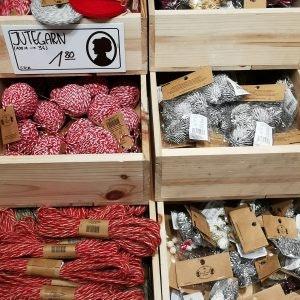 Jutegarn für eure DIY Weihnachtsdeko von Søstrene Grene