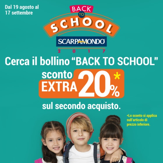 LA SPEZIA 1200x1200 BACK TO SCHOOL 2017