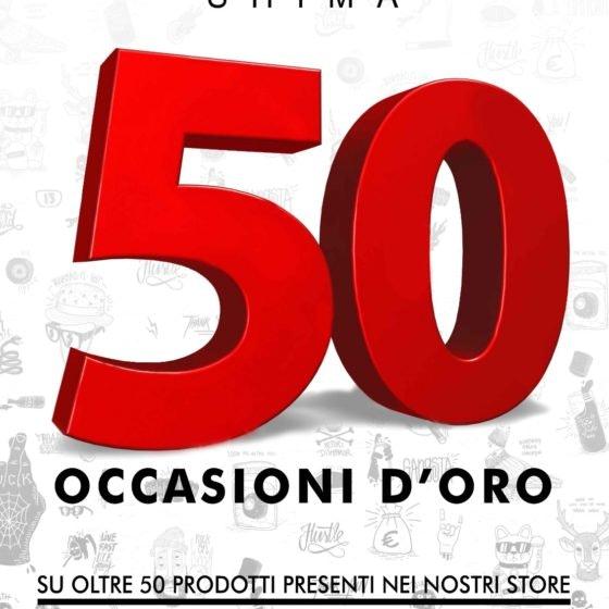 50 occasioni d'oro