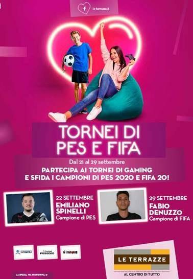 Le Terrazze Evento Gaming 21-29 settembre