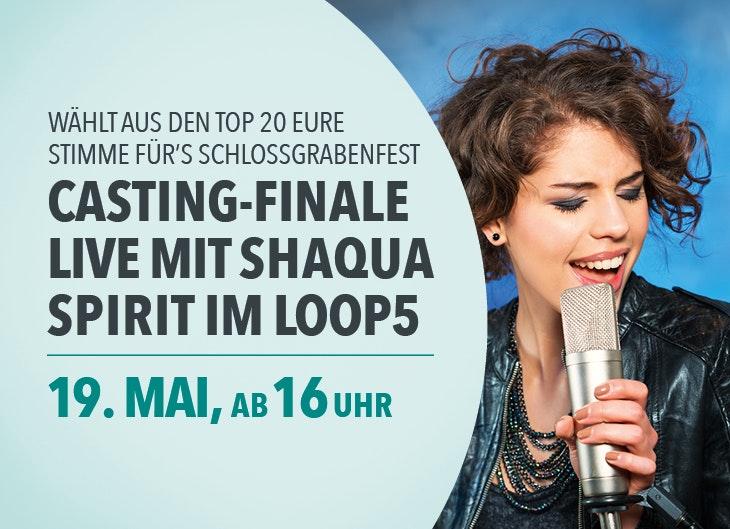 Das Casting-Event zum Schlossgrabenfest 2018