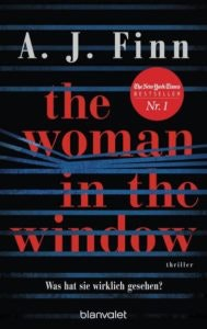 Bestseller-Tipp zum Welttag des BuchBestseller-Tipp zum Welttag des Buches: The Woman in the Window - A. J. Finn von Blanvalet