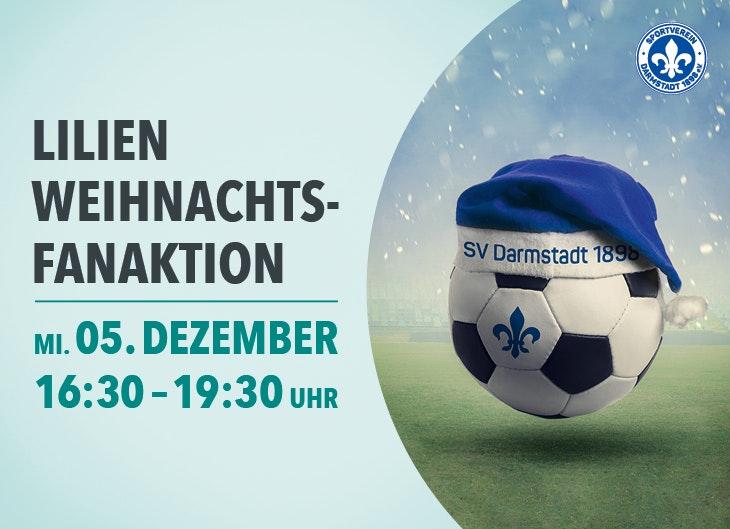 SV Darmstadt 98 - Lilien-Weihnachtsfanaktion im LOOP5
