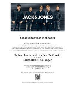 Sales Assistant Teilzeit