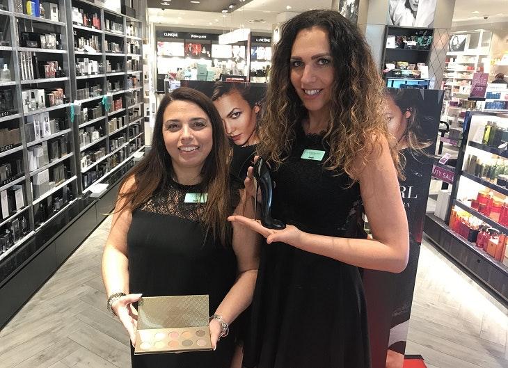Die Beauty-Trends 2018 vom HOFGARTEN SOLINGEN mit Frau Martilotti von Douglas