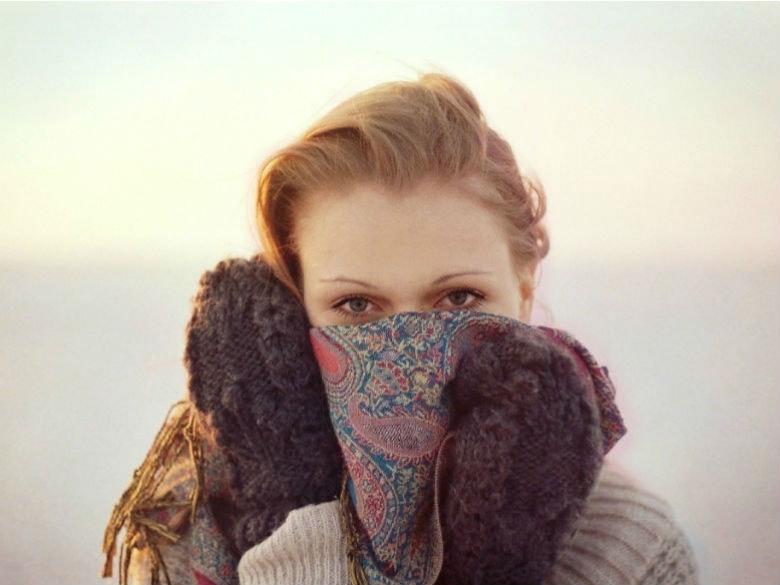 Frio Cuidados pele