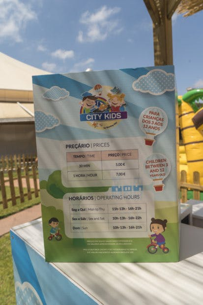 Parque City Kids no Colombo