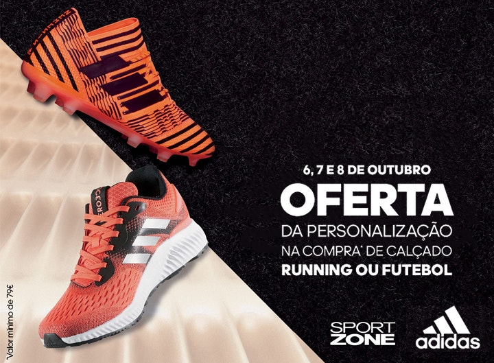 01a231688d Personalize os seus Adidas na nossa Sport Zone