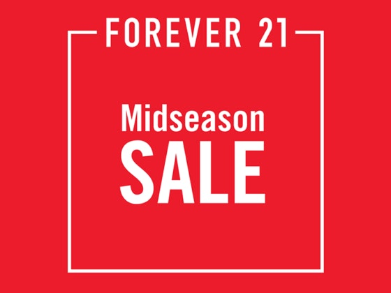 Mid Season Sales: Forever 21!