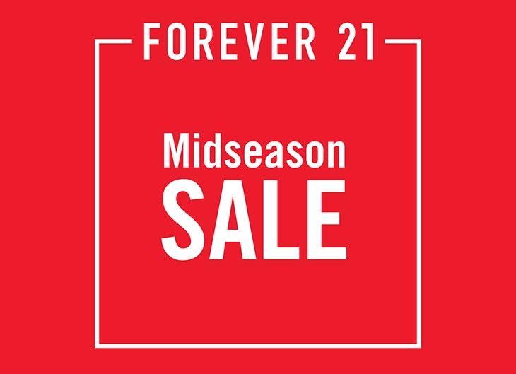 Mid Season Sales: Forever 21!