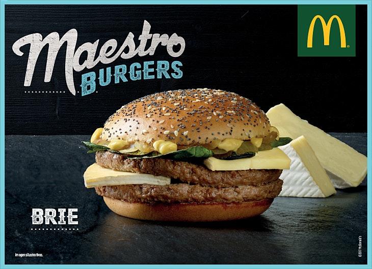 Vários SC_McDonald's_Maestro Brie