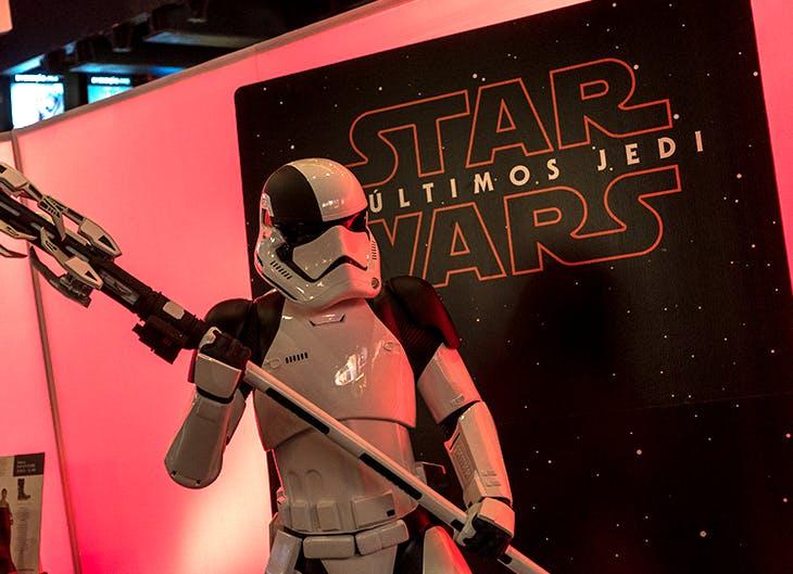 Uma passadeira vermelha muito concorrida para Star Wars