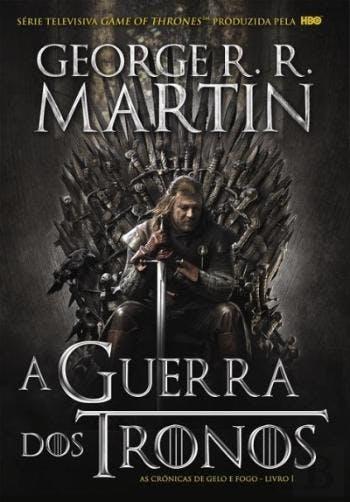 """""""A Guerra dos Tronos"""", de George R. R. Martin, 19,03€ (desconto de 50% em cartão Leitor Bertrand)"""