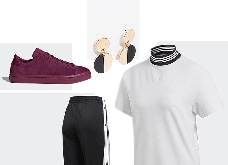 Inspiração Adidas em 5 looks