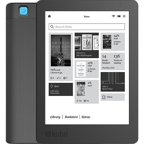 Kobo Aura 2 (Preto) eBook, 119,99€, na FNAC