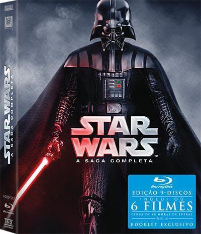 Star Wars- A Saga Completa - Edição Darth Vader, 89,90€, na FNAC