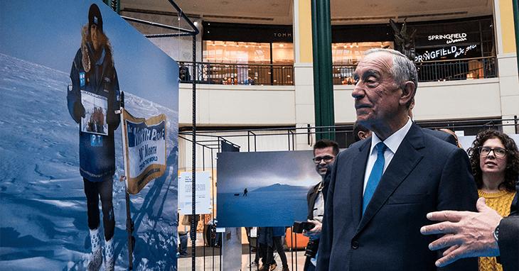 Marcelo Rebelo de Sousa esteve presente na Exposição de Ângelo Felgueiras