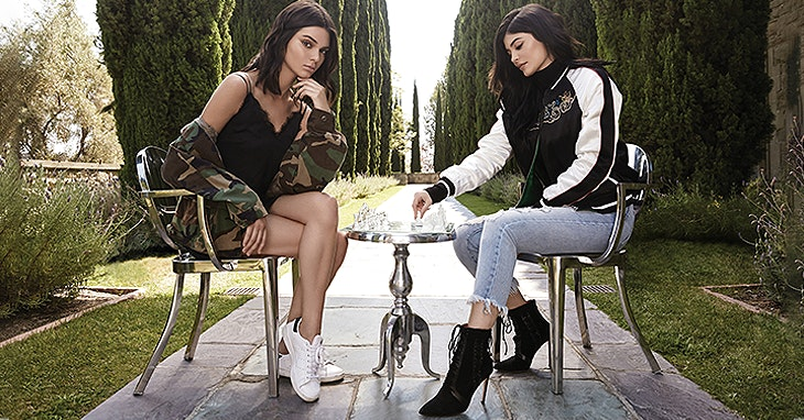 Kendall + Kylie na Forever 21