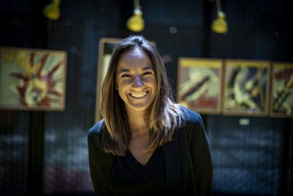 Rueffa, artista plástica e embaixadora da exposição