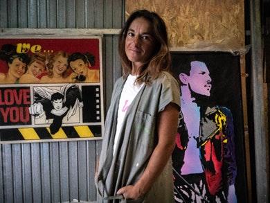 Rueffa, a artista plástica que vê em Lichtenstein um ícone