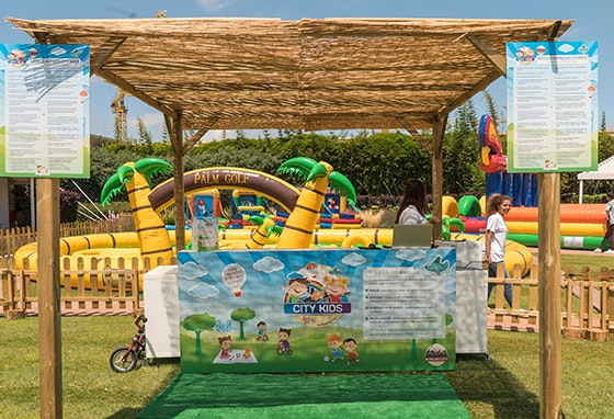 Sejam bem-vindos ao Parque City Kids!