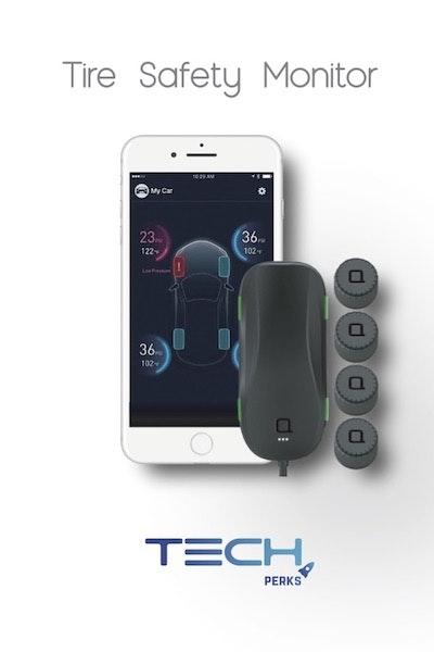 Um pequeno aparelho para colocar no carro, que lhe dirá em tempo real com que pressão estão os seus pneus. Nunca mais terá um furo sem motivo aparente.