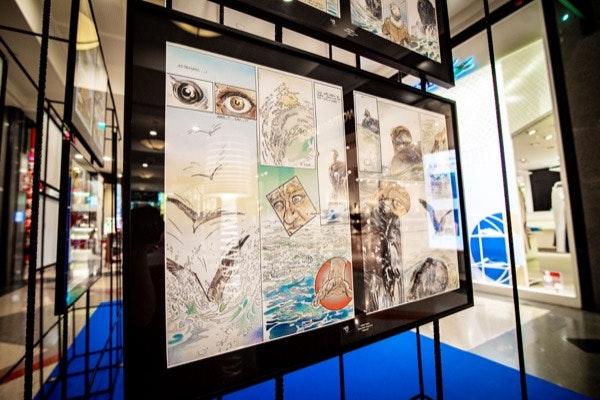 Exposição Amadora BD no Colombo
