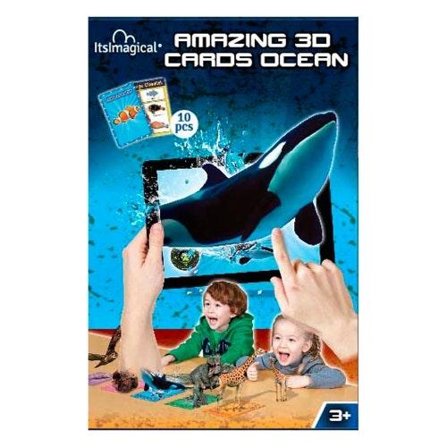 Cartas 3D dos Oceanos, 1,95€, Imaginarium