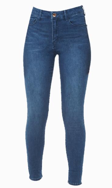 Baixas | Os skinny jeans em tons mais escuros ajudam a prolongar a silhueta. | Compre em Forever 21, 18,00€