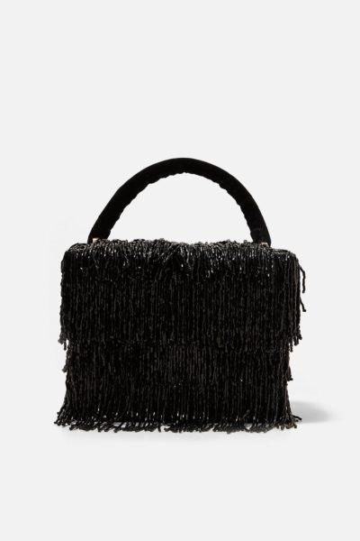 Mala com franjas, Zara, 35,99€