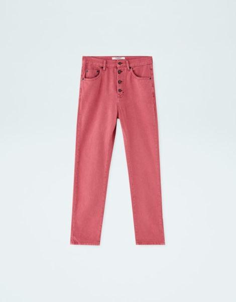Jeans rosa, Pull&Bear, 18,19€