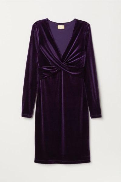 Vestido veludo, H&M, 39,99€