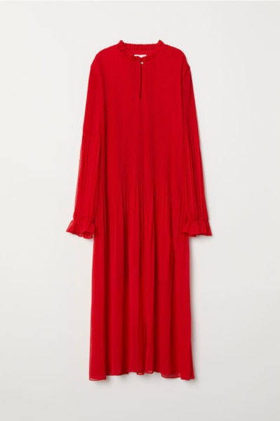 Vestido comprido, H&M, 39,99€