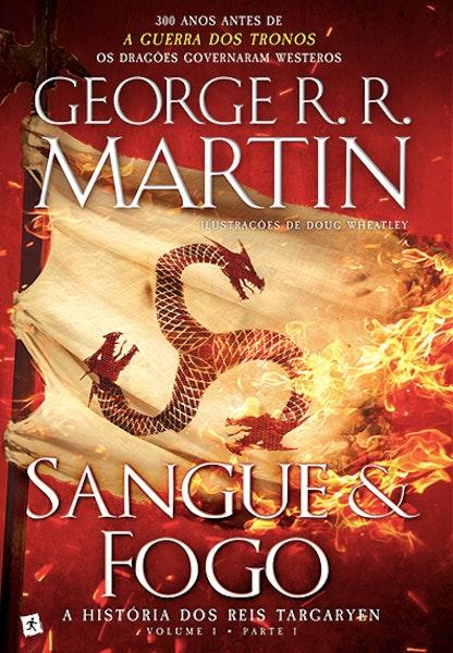 """Para os fãs da série """"Guerra dos Tronos"""", este livro é obrigatório! Citação: """"O Rei Aegon I Tagaryen tomou ambas as irmãs como esposas. Rhaenys e Visenya eram montadoras de dragões, com o cabelo louro-prateado, olhos purpúreos e beleza dos verdadeiros Targaryen"""" Preço: 18,80€"""