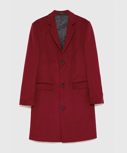 Casaco Zara, antes a 99,95€ e agora a 49,99€