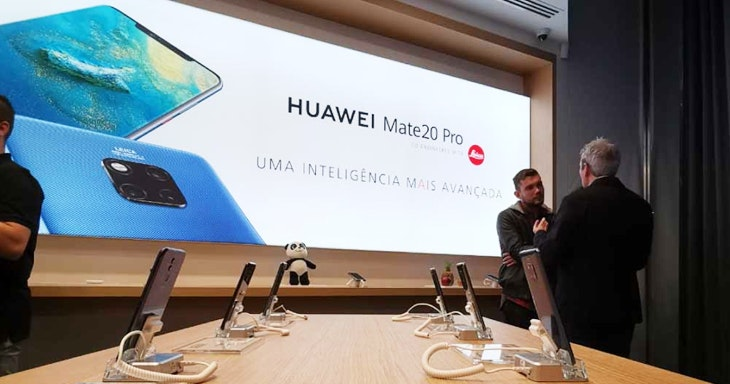 A melhor experiência Huawei no Colombo!
