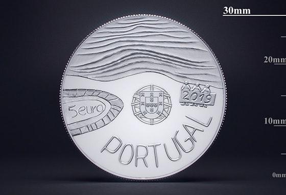 Casa da Moeda expõe no Colombo moedas comemorativas