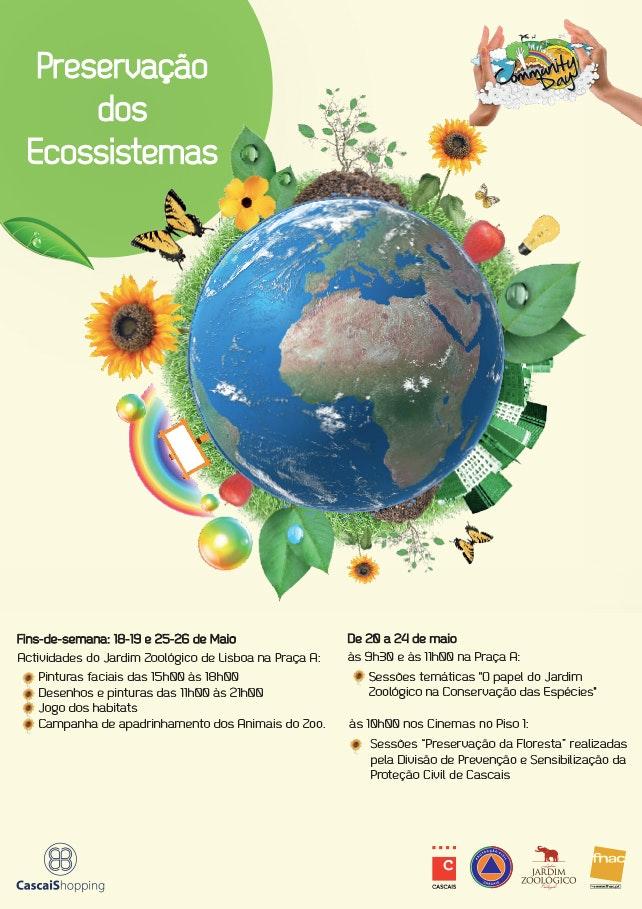 PRESERVAÇÃO DOS ECOSSISTEMAS – 18 A 26 DE MAIO