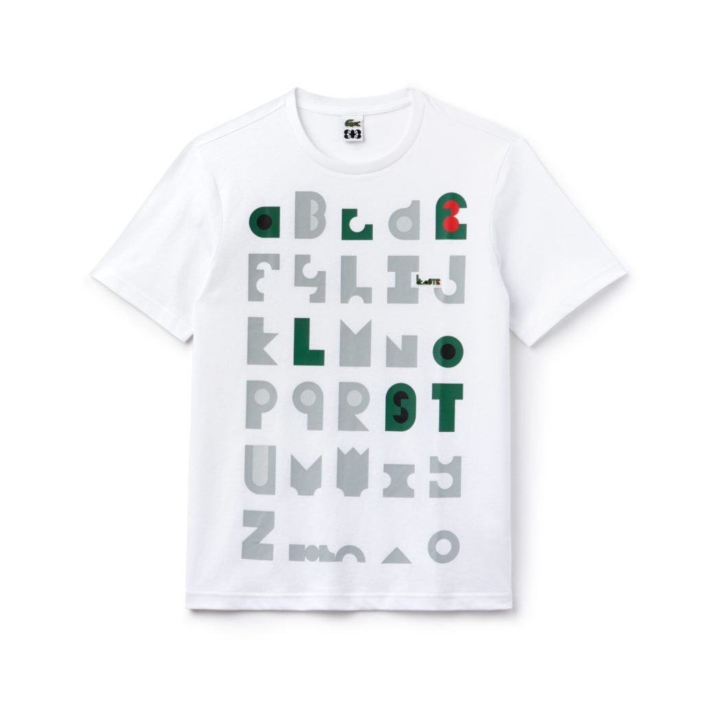 0ff834ad102f6 O alfabeto é reconstruído na nova coleção da Lacoste - CascaiShopping