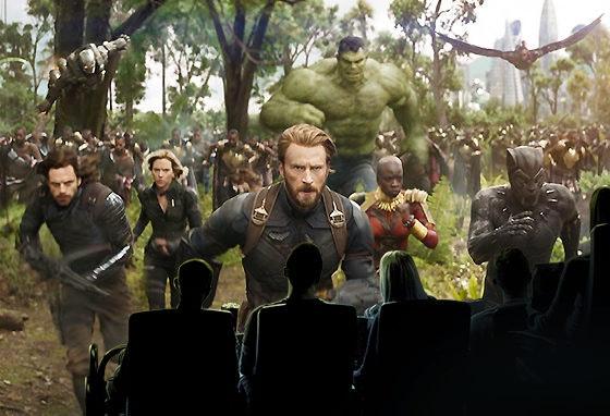 """""""Vingadores: Guerra do Infinito"""", o filme que tem mesmo de ver em IMAX 3D"""