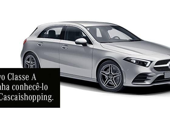 Venha conhecer o novo Mercedes-Benz Classe A
